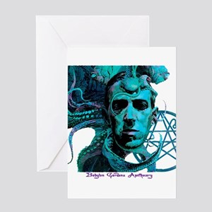 Cthulhu greeting cards cafepress hp lovecraft greeting cards m4hsunfo Gallery