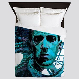 HP Lovecraft Queen Duvet