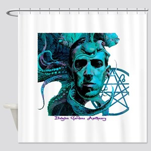 HP Lovecraft Shower Curtain