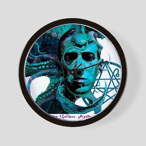 HP Lovecraft Wall Clock