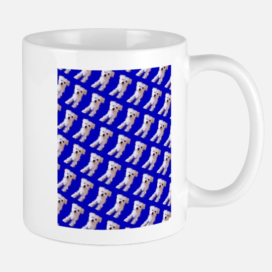 Munchin Maltese Blue Designer 23 Mugs