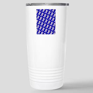 Munchin Maltese Blue De Stainless Steel Travel Mug