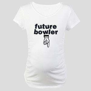 Future bowler - Maternity T-Shirt