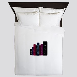 book lover Queen Duvet