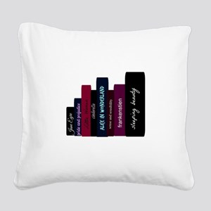 book lover Square Canvas Pillow