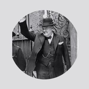 winston churchill Ornament (Round)