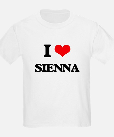 I Love Sienna T-Shirt