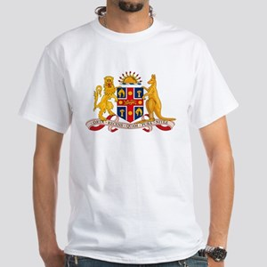 New South Wales Coat of Arms White T-Shirt