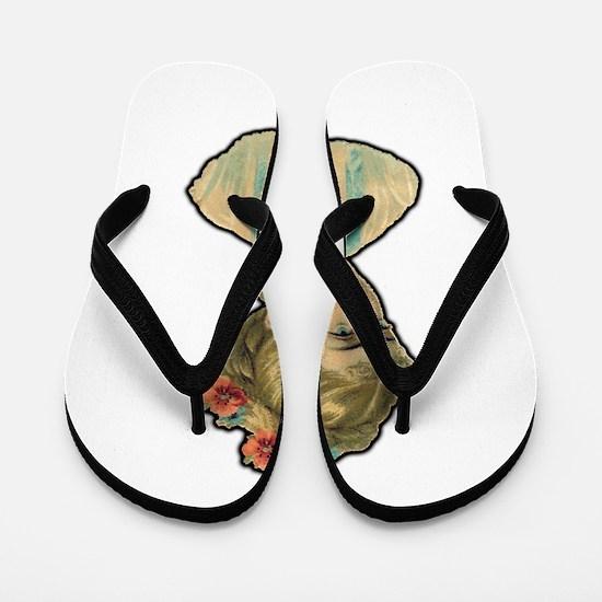 Funny Tater Flip Flops