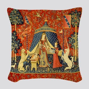 Lady and the Unicorn Medieval Tapestry Art Woven T