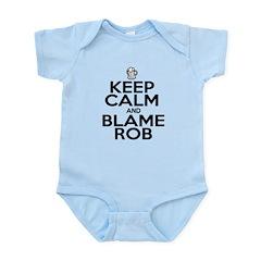 Keep Calm & Blame Rob Body Suit