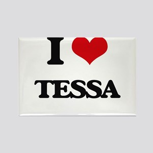 I Love Tessa Magnets