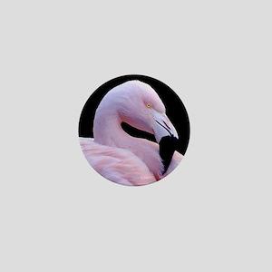 Pink Flamingo Mini Button