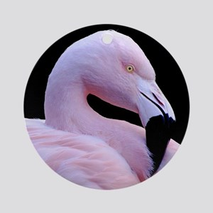 Pink Flamingo Ornament (Round)