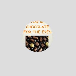 chocolate lover Mini Button
