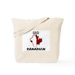 Canadian -(GSD / Pride)Tote Bag