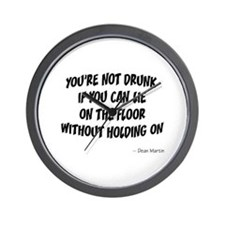Not Drunk Quote Wall Clock