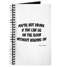 Not Drunk Quote Journal