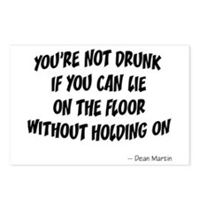 Not Drunk Quote Postcards (Package of 8)