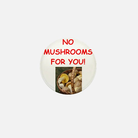MUSHROOMS Mini Button