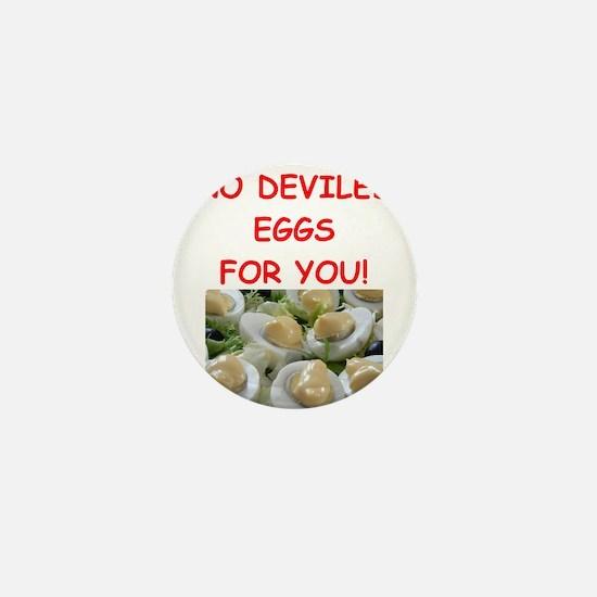 deviled eggs Mini Button