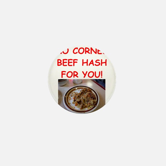 corned beef HASH Mini Button