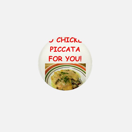 chicken piccata Mini Button