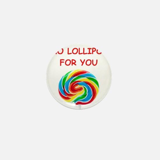 lollipop Mini Button