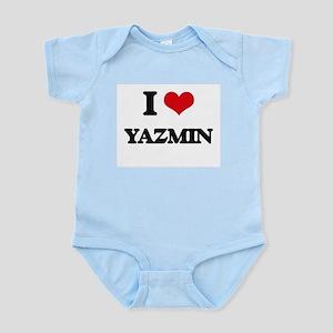 I Love Yazmin Body Suit