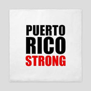Puerto Rico Strong Queen Duvet