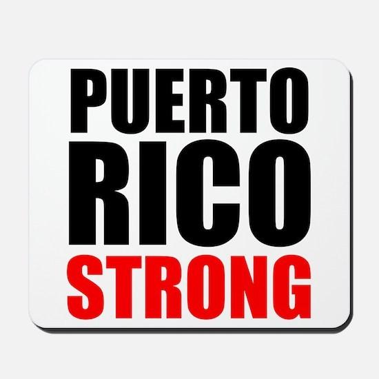 Puerto Rico Strong Mousepad