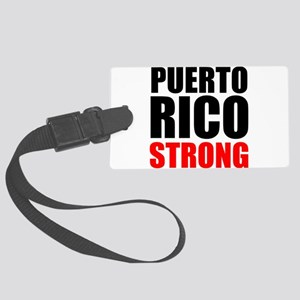 Puerto Rico Strong Luggage Tag