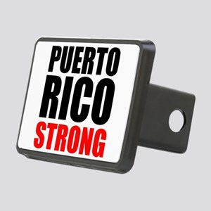 Puerto Rico Strong Hitch Cover