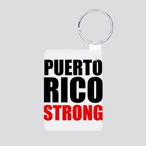 Puerto Rico Strong Keychains
