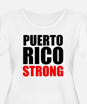 Puerto Rico Strong Plus Size T-Shirt