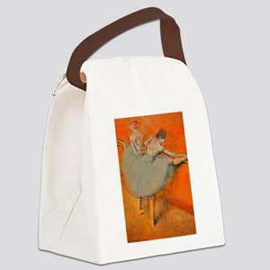Dancers: Getting Ready Canvas Lunch Bag