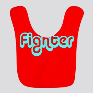 Cancer Fighter Red Designer Bib