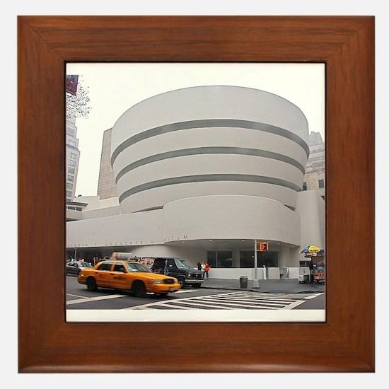 Guggenheim Museum: NYC Framed Tile
