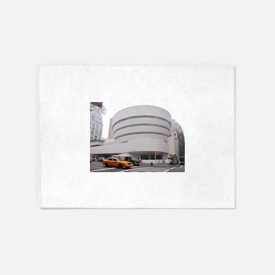 Guggenheim Museum: NYC 5'x7'Area Rug