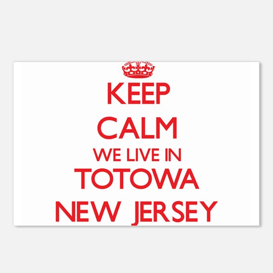 Keep calm we live in Toto Postcards (Package of 8)
