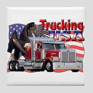 Trucking USA Tile Coaster