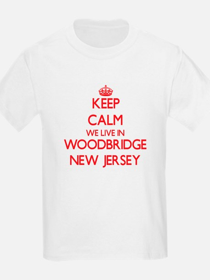 Keep calm we live in Woodbridge New Jersey T-Shirt