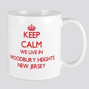 Keep calm we live in Woodbury Heights New Jer Mugs