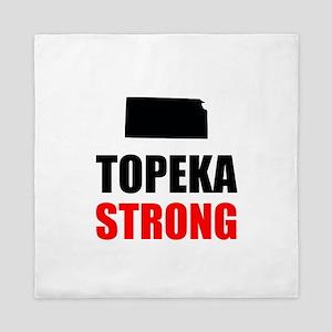 Topeka Strong Queen Duvet