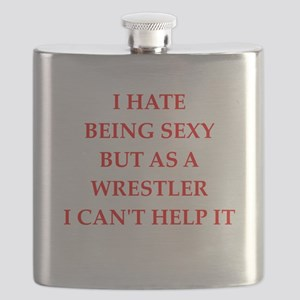 wrestler Flask