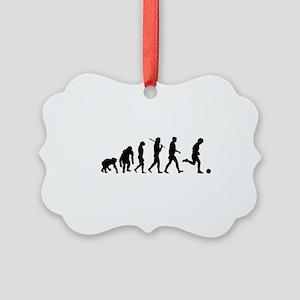 Evolution of Soccer Ornament