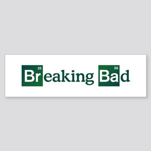 Breaking Bad Logo Sticker (Bumper)