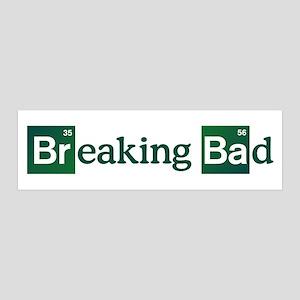 Breaking Bad Logo 20x6 Wall Decal