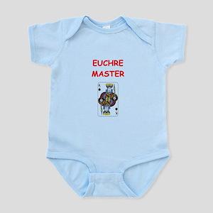 euchre Infant Bodysuit