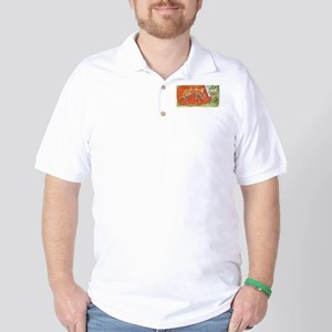 Stegosaurus Angulatus Golf Shirt